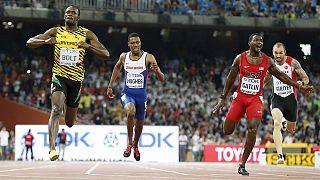 Bolt yine rakip tanımadı