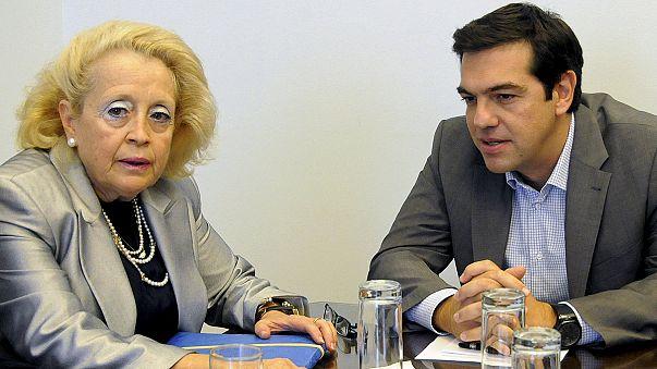 فاسيليكي ثانُو تُعيَّن رئيسةً للوزراء في اليونان خلفا لآليكسي تسيبراس
