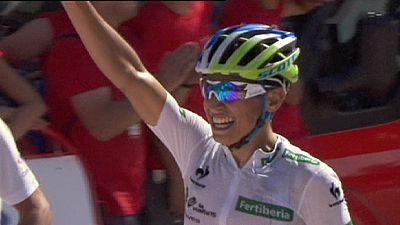 Vuelta 2015: Chaves volta a vestir de vermelho