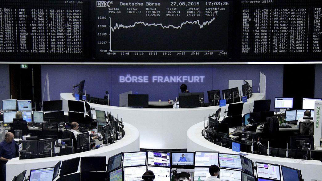 Europäische Börsen feiern satte Gewinne