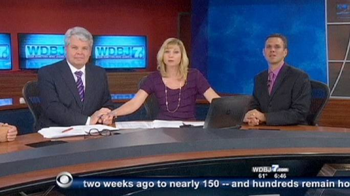 Etats-Unis : la chaîne WDBJ7 rend hommage à ses deux reporters tués en direct