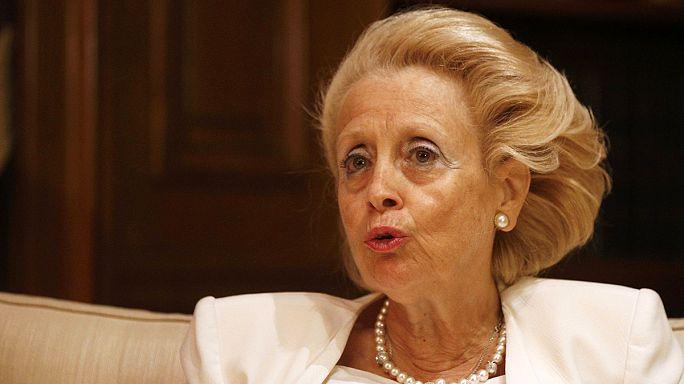 Yunanistan'ın ilk kadın başbakanı Vasiliki Thanou yemin ederek göreve başladı