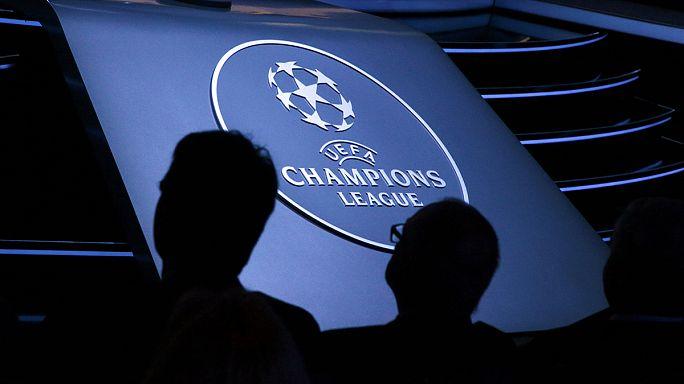 قرعة دوري أبطال أوروبا لكرة القدم في صالح الكبار