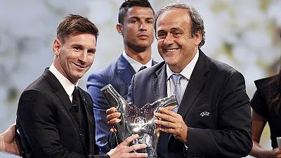 Messi named Europe's best player