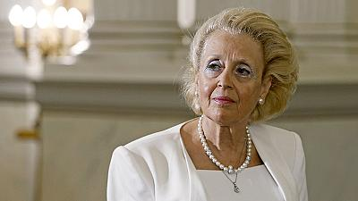 Greece's first female PM sworn in