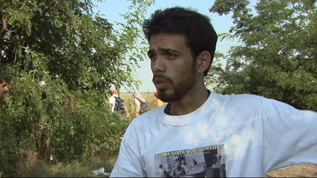 Euronews in viaggio con i migranti: l'Europa dietro il filo spinato