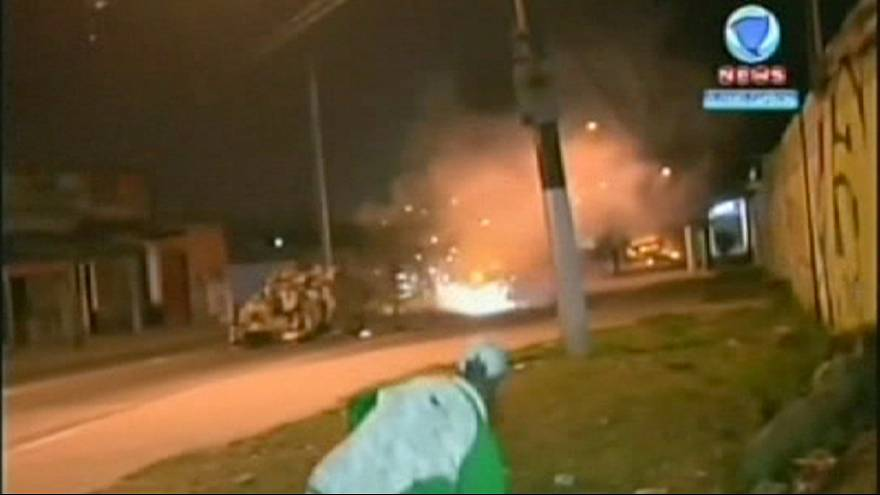 Slum eviction sparks clashes in Brazil