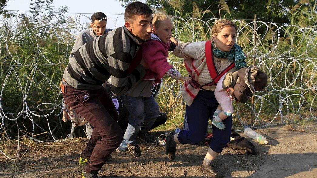 Vedação húngara não impede migrantes de entrarem no país