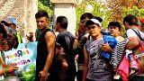 کمپ های پر جمعیت پناهجویان در اتریش