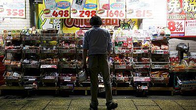 Japans Inflation bleibt auf Rekordtief
