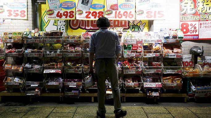 تباطؤ التضخم وإنفاق المستهلكين في اليابان الشهر الماضي