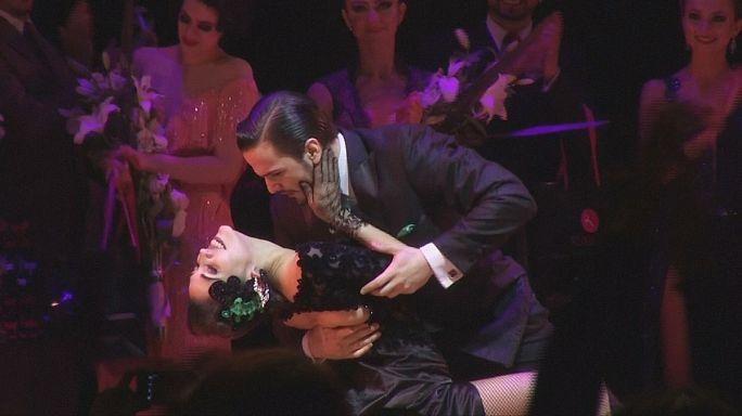 Les Argentins, champions du monde du tango