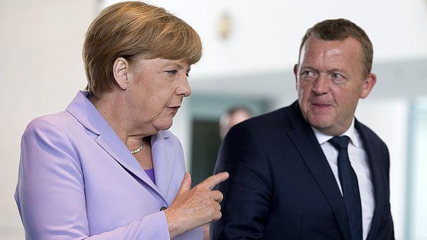 """Merkel a Berlino: """"L'Europa è pronta per vertice straordinario sui migranti''"""