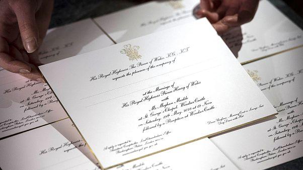 Image: Royal wedding preparations