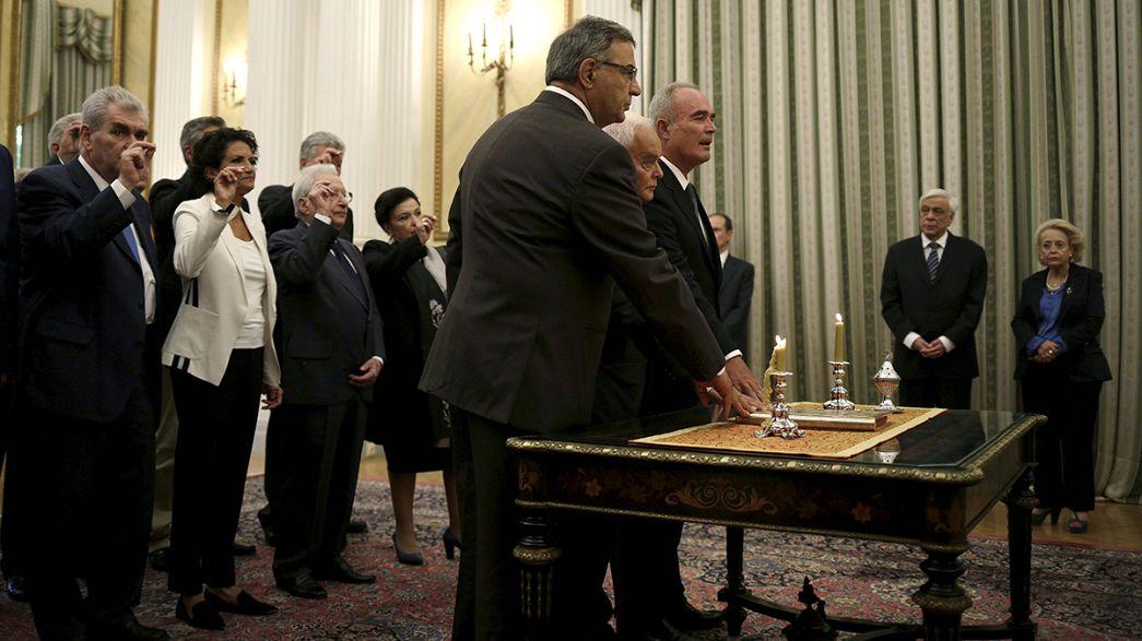 Grèce : nouveau cabinet par intérim, rendez-vous aux urnes le 20 septembre
