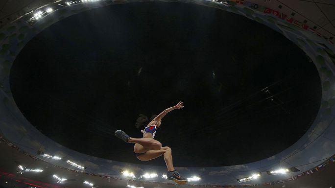 Сергей Шубенков - чемпион мира на дистанции 110 метров с барьерами