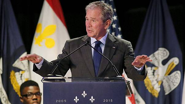 Bush vuelve a Nueva Orleans en el décimo aniversario del huracán Katrina
