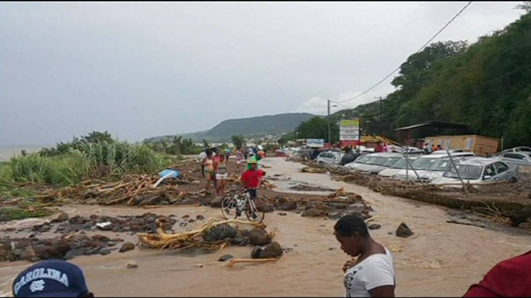 La tormenta Erika azota la isla de Dominica, donde han muerto al menos 12 personas