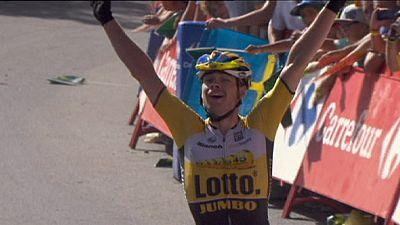 Niederländer Lindemann Bergkönig bei der Vuelta