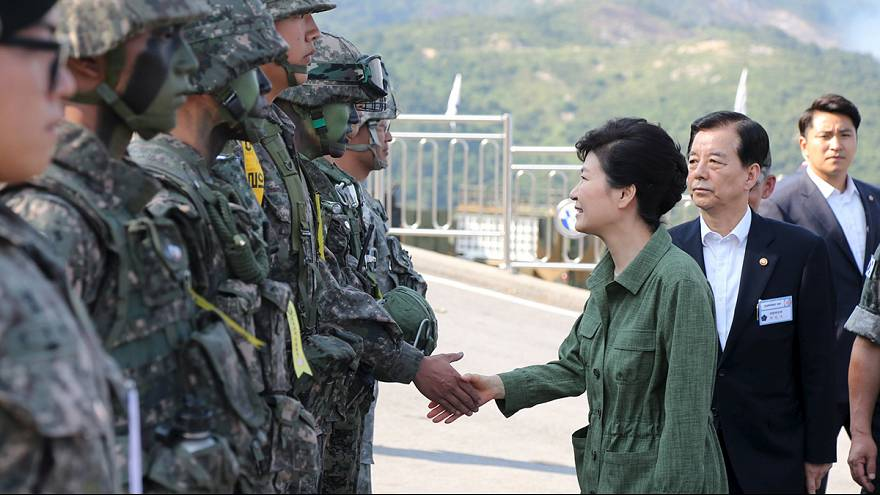 Seul simula invasão norte-coreana