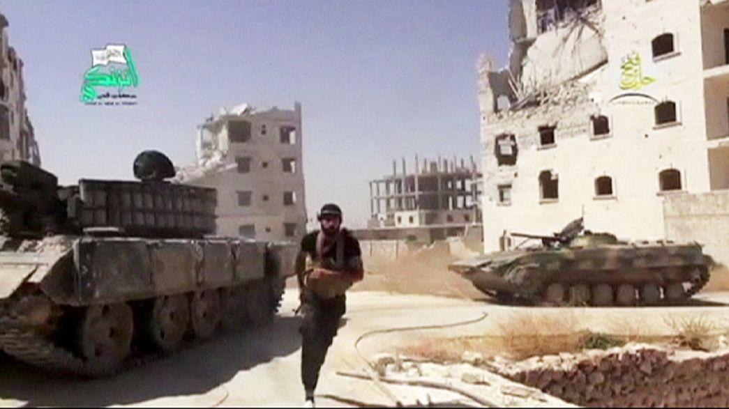 Combates em Zabadani e outras duas cidades sírias recomeçam