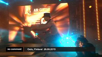 Finland : Air Guitar Contest – nocomment