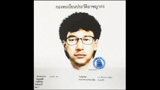 Detido homem suspeito da autoria do atentado na Tailândia