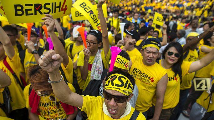Антиправительственные акции протеста в Малайзии