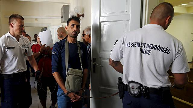 Suspects in Austria migrant lorry tragedy appear in Hungary court