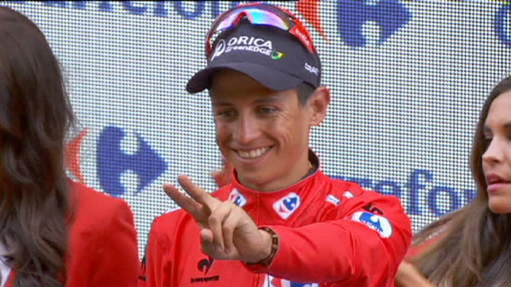 Hécatombe sur les routes du Tour d'Espagne
