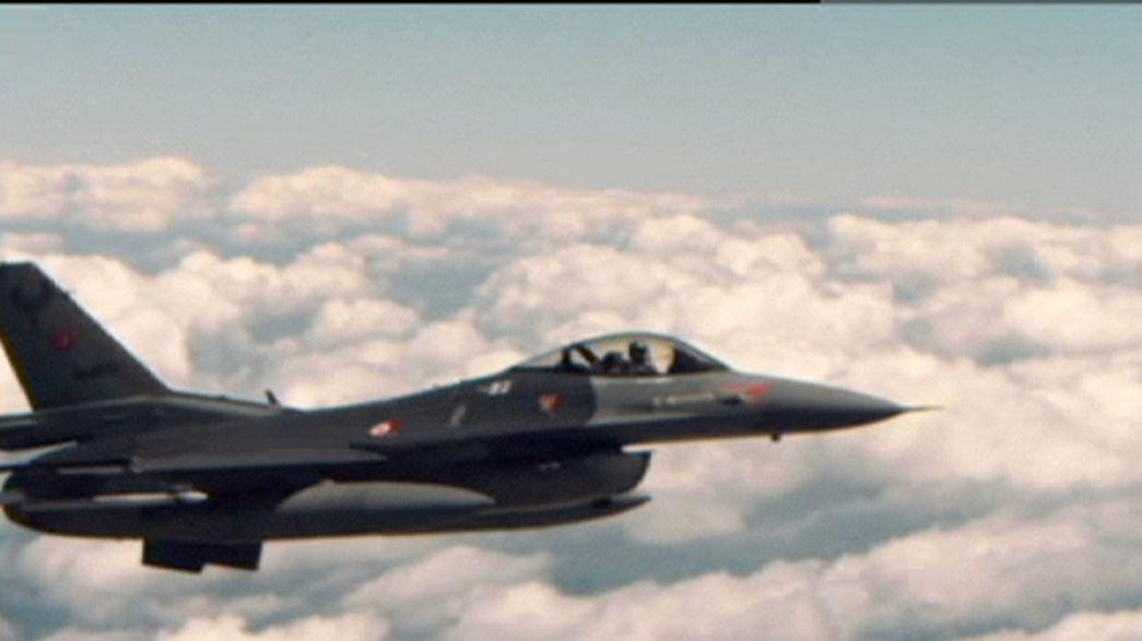 Premiers raids turcs avec la coalition en Syrie