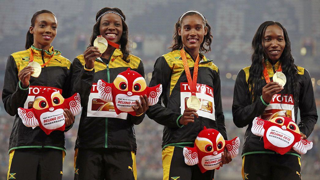 Mondiali atletica: alla Giamaica la 4x400 donne, gli Usa si prendono quella maschile