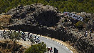 Tom Domoulin se coloca como nuevo líder de la Vuelta al ganar la novena etapa