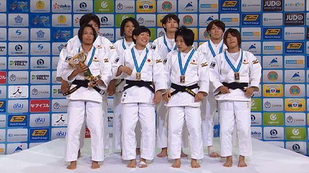 Judo Dünya Şampiyonası'nda Japonya rakip tanımadı