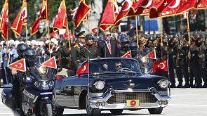 Turquia celebra o Dia da Vitória