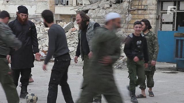 """Сирия: в гостях у группировки """"Ансар Аль-Акида"""""""