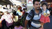 Centenas de refugiados chegam a Munique provenientes de Budapeste