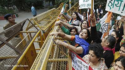 Indian sisters threatened with punishment rape