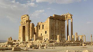 Satellitenbilder zeigen zerstörten Baaltempel im Weltkulturerbe Palmyra