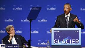 Barack Obama in Alaska parla del cambio climatico e partecipa a reality in tv