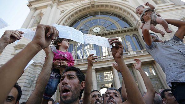La gare de Budapest de nouveau fermée aux migrants