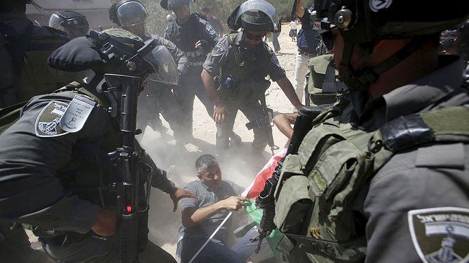 Öt sérült Ciszjordániában az izraeli rajtaütés után