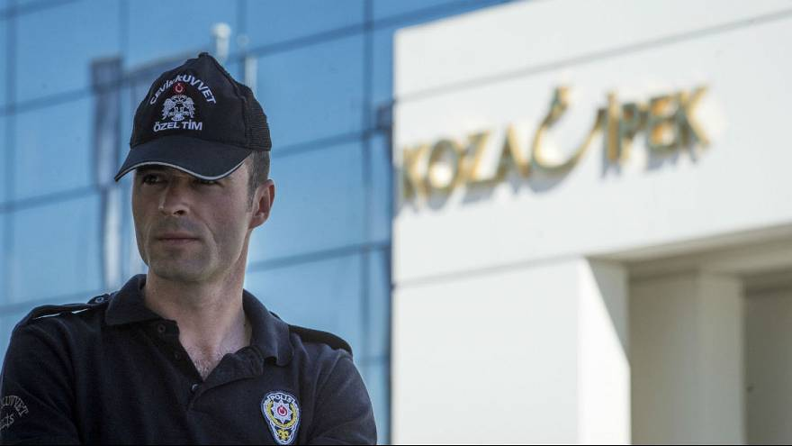 Turkish police raid media group over 'terrorist financing'