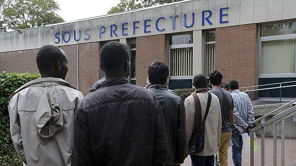 Migranten in Calais sind für LKW-Fahrer ein Sicherheitsrisiko