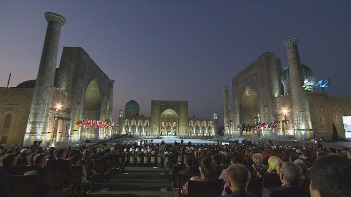 Traditional music festival fills Samarkand with oriental melodies
