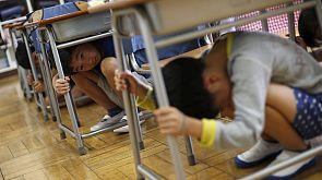 Japan probt die Katastrophe