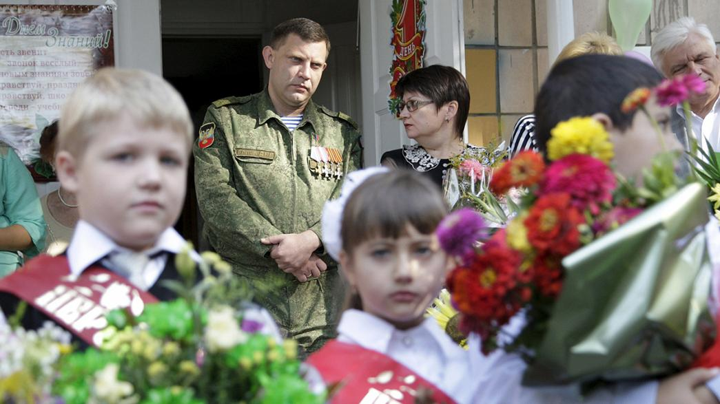 Ukraine: back to school in Donetsk