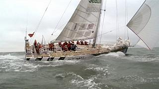 Auftakt zum Clipper Round the World Race