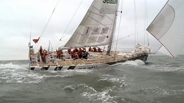 Crews set sail for Clipper Round the World Race
