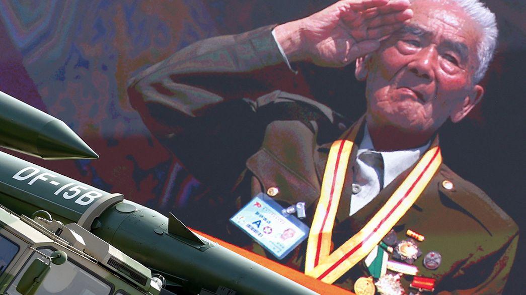 La Cina celebra la fine della guerra contro il Giappone